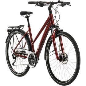Cube Touring EXC Trapez red/grey